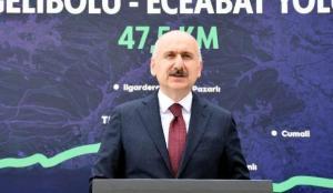 Ulaştırma ve haberleşme için 1 trilyon lira yatırım yapıldı