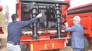 Bitlis'te çiftçiye 354 bin TL'lik ekipman desteği verildi