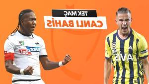 Fenerbahçe – Denizlispor maçı canlı bahis heyecanı Misli.com'da