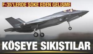 Köşeye sıkıştılar: F-35'lerde şoke eden gelişme