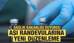 Son dakika haberler… Sağlık Bakanlığı duyurdu: Aşı randevularına yeni düzenleme