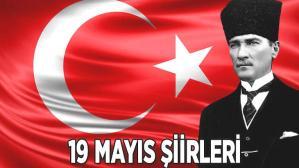 19 Mayıs şiirleri (ilkokul-ortaokul-lise) resimli, uzun ve kısa seçenekli 2021: 1,2,3,4,5 kıtalık 19 Mayıs Atatürk'ü Anma, Gençlik ve Spor Bayramı şiirleri