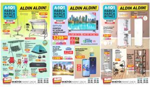A101 20 Mayıs Aktüel Kataloğu! Elektronik, züccaciye, kamp malzemeleri ve elektrikli ev aletlerinde