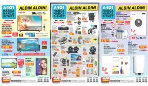 A101 3 Haziran Aktüel Kataloğu! Su arıtma cihazı, bebek tekstili, buzdolabı ve oto aksesuar ürünleri
