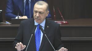 """Cumhurbaşkanı Erdoğan'ın grup toplantısında kullandığı """"Bay Meral"""" ifadesi sosyal medyada gündem oldu"""