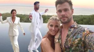 Elsa Pataky-Chris Hemsworth çiftinin partisi takipçilerini kıskandırdı