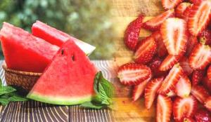 En faydalı 7 yaz meyvesi