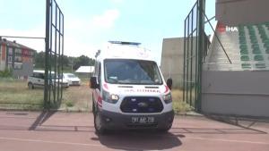 Hava ambulansı bu kez trafik kazasında yaralanan kadın için havalandı