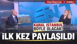 Kanal İstanbul bitince böyle olacak! İlk kez paylaşıldı!