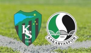 Kocaelispor ve Sakaryaspor 1. Lig için mücadele edecek!