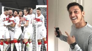 Mesut Özil, Almanya'yı kalbinden sildi! Fenerbahçeli oyuncu, Ay-Yıldızlı takıma destek verdi