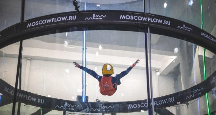 Rusya'daki devlet destekli özel bir program sayesinde selebral palsi hastası çocuklar uçabiliyor