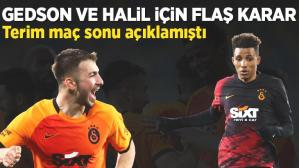 Son dakika haberleri: Galatasaray'dan Gedson Fernandes ve Halil Dervişoğlu için son dakika transfer kararı! Fatih Terim resmen açıklamıştı…