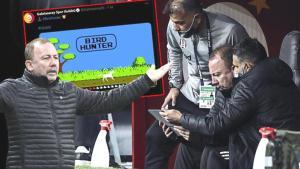 Son dakika – Sergen Yalçın'ı kızdıran 'Ganyan' sataşması! Galatasaray'dan dikkat çeken paylaşım