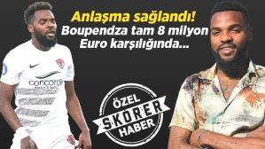 Son dakika transfer haberi: Fenerbahçe ve Galatasaray peşindeydi! Aaron Boupendza 8 milyon Euro karşılığında imzayı atıyor…