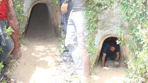 Tesadüfen buldular! Cesaretlerini toplayıp içeri girince…