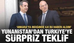 Yunanistan'dan Türkiye'ye sürpriz teklif! 'Ankara'ya indiğimde ilk bu haberi aldım'