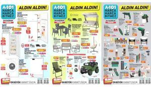 24 Haziran A101 aktüel kataloğu! Oturma grubu, derin dondurucu, elektronik, mobilya ürünleri…
