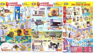 30 Haziran ŞOK Aktüel Ürünler Kataloğu! Kanepe, 2'li koltuk, tv ünitesi, salıncak ve züccaciyede