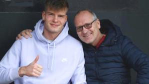 Alexander Sörloth'un babasından Süper Lig'e yeşil ışık