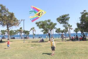 Antalya'daki uçurtma şenliği renkli görüntülere sahne oldu