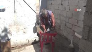 Ayağı kesilen Türk vatandaşına Suriyeli doktordan ücretsiz protez takıldı