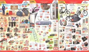 BİM 11 Haziran aktüel kataloğu! Elektrikli bisiklet, bavul, tekstil ürünlerinde…