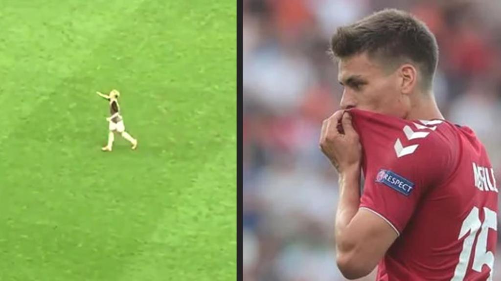 Danimarkalı yıldız futbolcu Maehle'nin Fenerbahçe selamı EURO 2020'ye damga vurdu