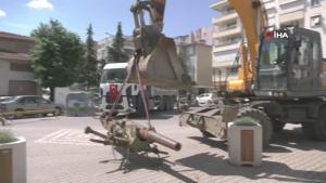 Edremit'teki tarihi top Harbiye'de restore edilecek