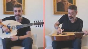 Hakan Altun, enstrümanının tellerini keserek müzisyenlerin çalışamamasına tepki gösterdi