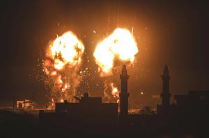 İsrail bildiğiniz gibi! Ateşkesin ardından ilk hava saldırısını Gazze'ye düzenlediler