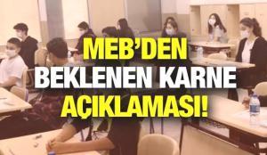 Karneler ne zaman verilecek? MEB'den öğrencilerin beklediği karne açıklaması!