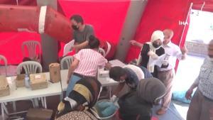 Kilis'te toplam 64 bin aşı yapıldı