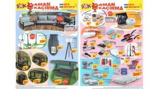 ŞOK 16 Haziran Aktüel Kataloğu! Otuma grubu, masa sandalye, lambader, züccaciye ürünlerinde…