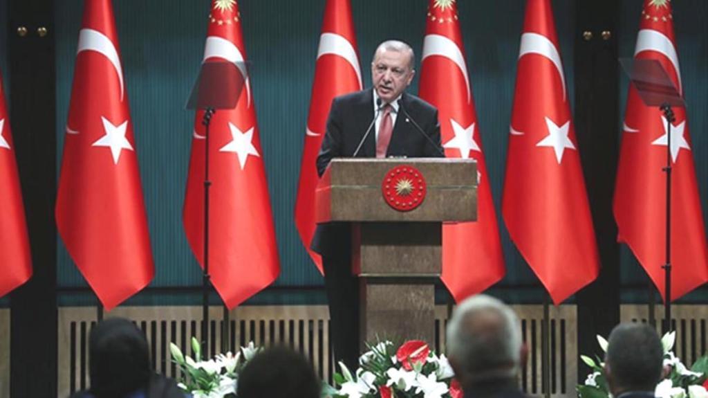 Son Dakika: Cumhurbaşkanı Erdoğan, Kabine toplantısı sonrası açıklama yapıyor