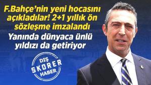 Son dakika: Fenerbahçe'nin yeni teknik direktörünü açıkladılar! 2+1 yıllık anlaşma sağlandı ve dünyaca ünlü yıldız da transfer ediliyor