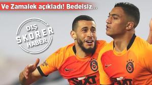 Son dakika haber: Zamalek'ten son dakika Mostafa Mohamed açıklaması: Bedelsiz olarak Galatasaray'a transfer…