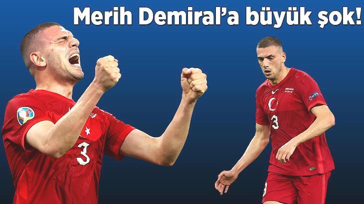 Son dakika transfer haberi: Merih Demiral'a büyük şok! EURO 2020 sonrası beklenmedik gelişme