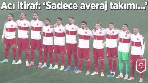 """Son dakika – Türkiye-İtalya maçının ardından acı itiraf: """"Sadece bir averaj takımı…"""""""