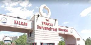 Trakya Üniversitesi sözleşmeli 62 sağlık personeli alacak