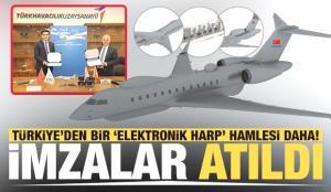 Türkiye'den bir 'Elektronik Harp' hamlesi daha! Hava SOJ projesinde kullanılacak