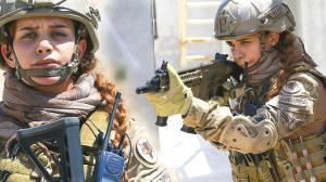 Yerleşim birimlerindeki terör operasyonları için eğitim alan ilk kadın astsubay göreve hazır