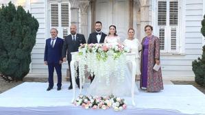 9 yılın ardından İstanbul'da bir ilk! Osmanlı Şehzadesi, Maslak kasrında dünyaevine girdi