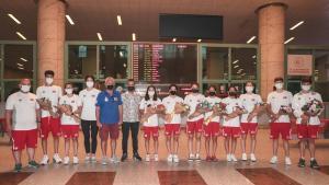 Avrupa Gençler Yüzme Şampiyonası'nda 15 madalya kazanan milli takım yurda döndü