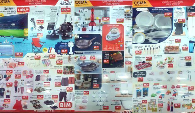 BİM 6 Ağustos Aktüel Ürünler Kataloğu! TV, Süpürge, Kamp Sandalyesi, Kahve Makinesi, Tekstil ürünlerinde