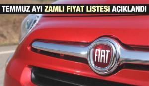 Fiat 2021 model sıfır araç modellerinin yeni zamlı fiyatlarını açıkladı! Sıfır Egea Fiorino Doblo fiyat listesi
