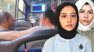 İki kız kardeşe otobüste taciz ve saldırı iddiası! Her şeyi kaydettiler