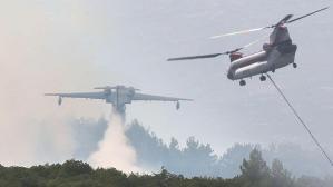 Mersin Hatay'da orman yangını
