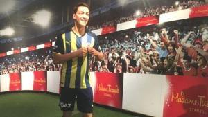 Mesut Özil'in balmumu figürü, dünyaca ünlü yıldızlarla birlikte İstanbul'da sergilenecek