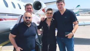Milli futbolcumuz Cengiz Ünder, Marsilya ile sözleşme imzalamak için Fransa'ya gitti